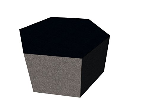PolySound Schallschutzwand & Breitbandabsorber ECO Hexagon