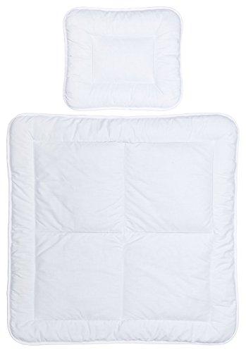 Baby Bettdecken Set 80x80 / 35x40 Stubenwagen Beistellbetten Wiegen 50% Baumwolle 50% Polyester 889014