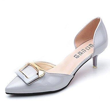 pwne Donna Sandali Scarpe Club Pu Primavera Estate Abbigliamento Sportivo Stiletto Heel Arrossendo Rosa Grigio Bianco 2A-2 3/4In US5.5 / EU36 / UK3.5 / CN35