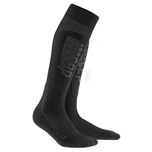 CEP Herren Progressive+ Ski Ultralight Socks WP57 Black/Anthracite 39-44cm