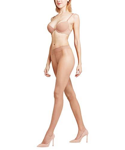 FALKE Damen Strumpfhosen Shelina 12 DEN, Ultra-Transparente, 1 Stück, Gelb (Sun 4299), Größe: M