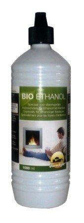 1 Liter Bio-Ethanol / Für Gelkamine & Ethanolkamine / Geruchlose und rückstandsfreie Verbrennung