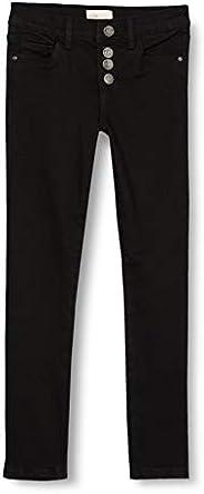 Kids Only Konrose Button Jeans Black Noos Bambina