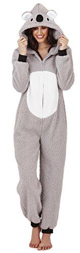 Continental Damen Jumpsuit Overall Koala Bear 3D 79662 (Animal Damen Hoodie)