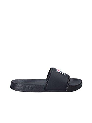 Fila palm beach slipper ciabatta da mare black