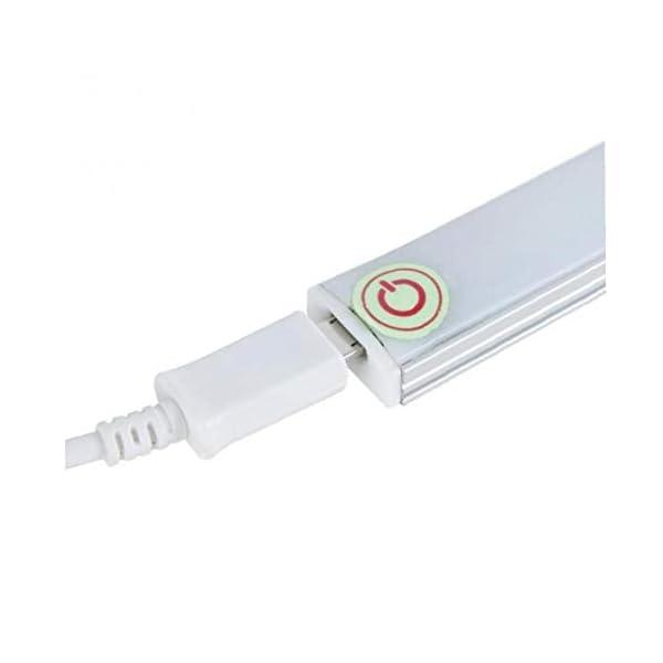 Romote 1Pc llevado bajo luz del gabinete de la lámpara PIR Con sensor de movimiento de 21 LEDs de iluminación para el… 5