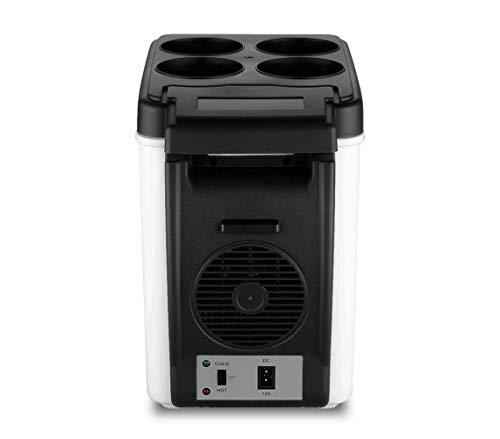 Mini-réfrigérateur 12 V portable 2 en 1 chaud et froid 6 litres pour voiture, caravane, maison, bureau, couleur aléatoire