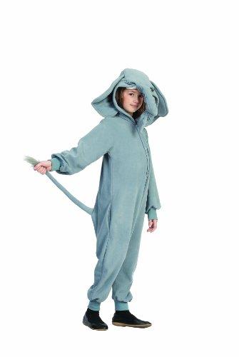 Funsies Kostüm - Funsies Kigurumi Peanut Elephant Fleece Jumpsuit Costume Child Toddler Small 4-6