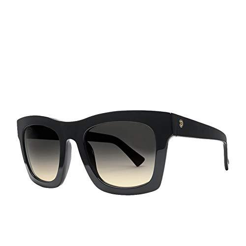 Electric Crasher Womens Sunglasses One Size Gloss Black ~ Grey