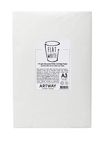 Artway soporte de color blanco–100% reciclado láser...