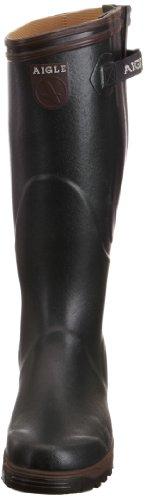 Aigle Parcours Vario 8504,Unisex-Erwachsene Gummistiefel Grün (Bronze/Noyer)
