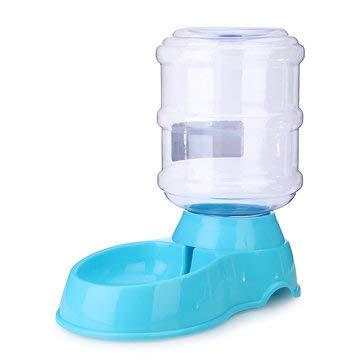 ExcLent 3.5L Große Flasche Automatische Haustier Getränkespender Hund Katze Feeder Waterer Bowl Dish - Blau