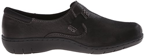 Skechers Washington Seattle Slip-on Loafer Black Closure