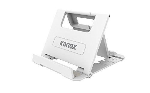 Kanex Super Slim Tablet- und Smartphonehalter [2er- Pack, aufklappbar | für Nintendo Switch, Kindle, Apple iPad, iPhone, Samsung, LG, Huawei, Motorola, Lenovo, uvm.] - FOLDSTD (Kindle Phone)
