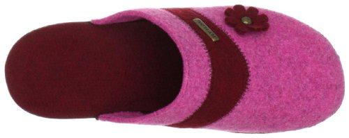 Flyflot 861201, Pantofole donna Rosso (Rot (bordo))