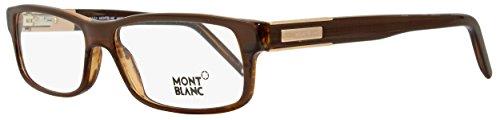 Montblanc MB0334 C56 062 (brown horn / ) Brillengestelle