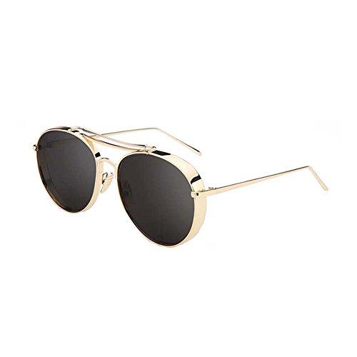 Black Temptation Anti-UVA Anti-UVB Straßenart und weiseart Metallrahmen-Sonnenbrille