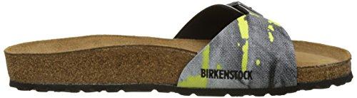 Birkenstock Herren Madrid Pantoletten, Various Mehrfarbig (City Camo Yellow)
