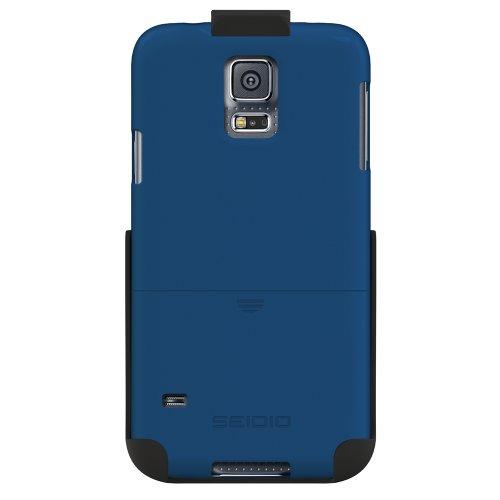 Seidio BD2-HR3SSGS5-RB Surface Hülle Combo für Samsung Galaxy S5 blau - Seidio Holster-design