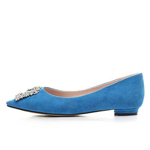 Chaussures de mode/chaussures basses pointes peu profondes/Joker sucré coréenne met le pied chaussures A