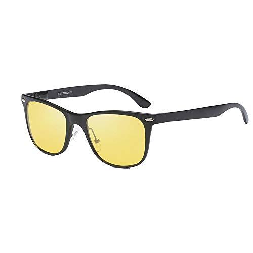 GLASSES Autofahren mit HD-Brille bei Nacht, Outdoor-Sport-Reitbrille, polarisierte Sport-Sonnenbrille, Blend- und UV-Schutz, geeignet zum Outdoor-Angeln, Autofahren
