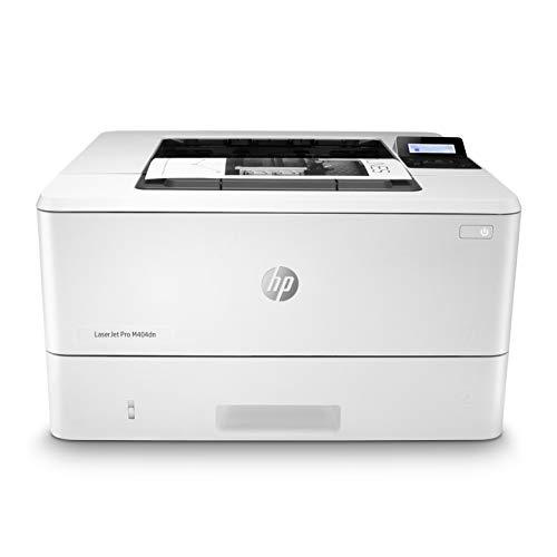 HP LaserJet Pro M404dn Laserdrucker (Drucker, LAN, Duplex, AirPrint, 350-Blatt Papierfach) weiß
