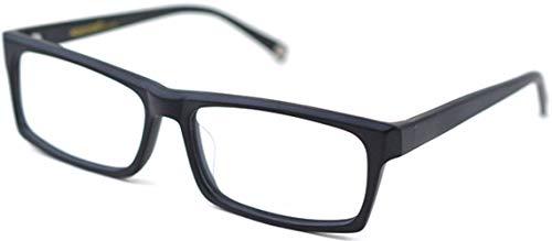J&L GLASSES Retro Klassisches Nerd Klar Hornbrille Brille mit Fensterglas Damen Herren Brillenfassung holz Stil 8005 (Matte Black)