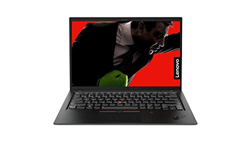 "Lenovo ThinkPad X1 Carbon 6th Gen Laptop, Display da 14"" FHD IPS, Processore Intel I7-8550U, RAM 16 GB, Storage 512 GB SSD, Scheda Grafica Condivisa, Wi-Fi, BT4.1, Windows 10 Pro 64, Black, 20KH006JIX"