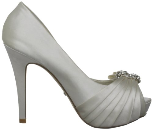 Menbur Wedding Noa 5160, Scarpe col tacco da sposa Avorio (Elfenbein (Ivory 04))