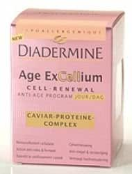 Diadermine - Age ExCellium Crème jour anti-âge - Complexe Caviar-Protéines - 50 ml