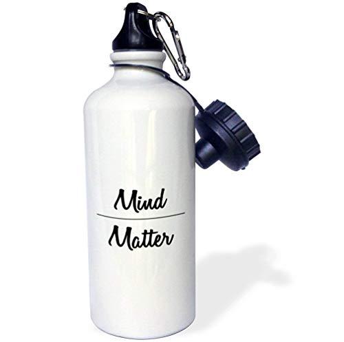 qidushop Tory Anne Collection Trinkflasche mit Zitaten aus Edelstahl, für Radfahren, Camping, 535 ml