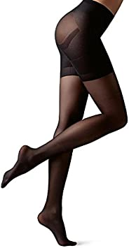 Calzedonia Women's 30 Denier Total Shaper Sheer Tights, Large,
