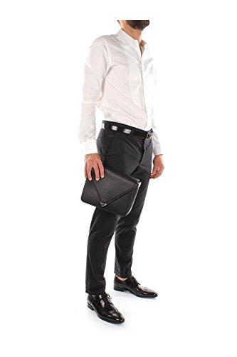 20R0147001 Alexander Wang Sac à bandoulière Homme Cuir Noir Noir