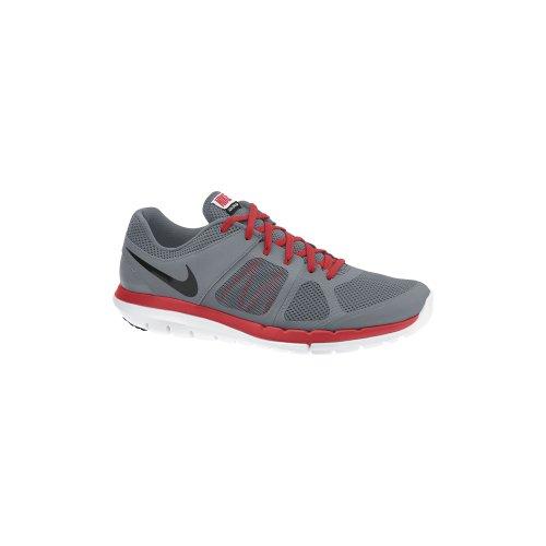 Nike Flex s Men'2014 RN Laufschuhe Gris / Negro / Rojo / Blanco