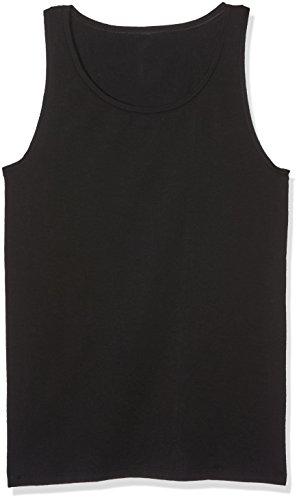 Palmers Damen Unterhemd Hemdchen Natural Beauty Schwarz (Schwarz 900)