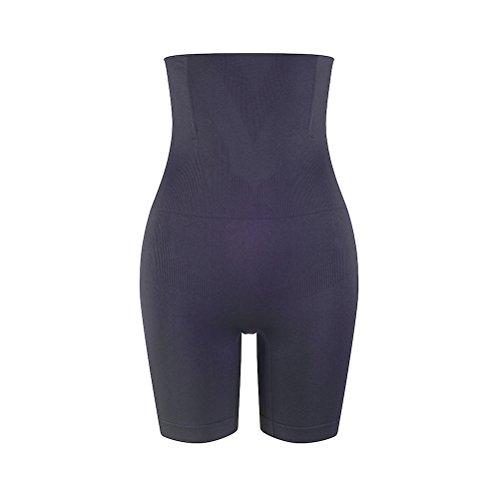 Winter Guide Pants (Amazingjoys Damen Miederpants Miederslip Figurenformend mit Bauch-Weg-Effekt Formt Sofort, Schwarz, Fits Wasit 58-68cm)