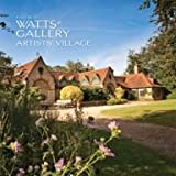 Front cover for the book A Guide to Watts Gallery - Artists Village by Nicholas Tromans