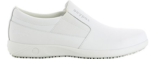 Oxypas Roy Herren Arbeits- und Sicherheitsschuhe | Sneaker, Farbe: Weiß, Größe: 42