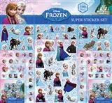 Disney 500 Supersticker AUSHWAL Frozen/Cars/The Minions/Minnie Maus Sticker Tattoos Die Eiskönigin (Frozen)