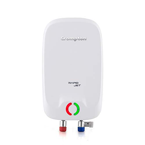 Crompton Rapid Jet AIWH-3LRPIDJT3KW5Y 3LTR (3KW) Instant Water Heater (White and Grey)