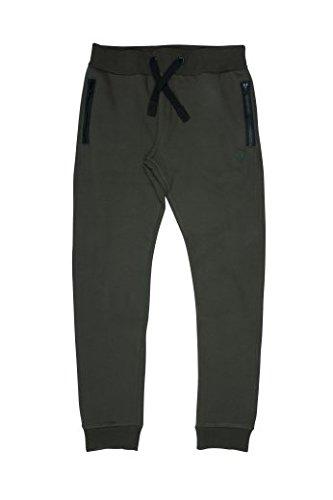 Fox Green Black Joggers - Angelhose, Jogginghose für Angler, Hose zum Angeln, Anglerhose, Größe:M