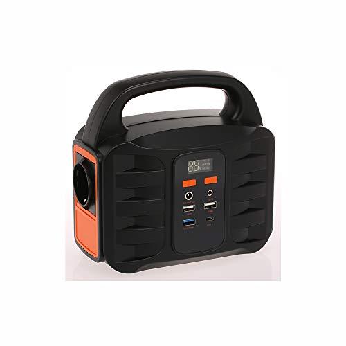 QWERTOUY Generador portátil de Copia de Seguridad de Emergencia Generador estación 155Wh...