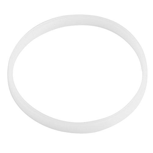 Fdit Anillo de Sello Goma Junta Goma 4PCS Blanco para Mezclador de Jumbo de Ninja