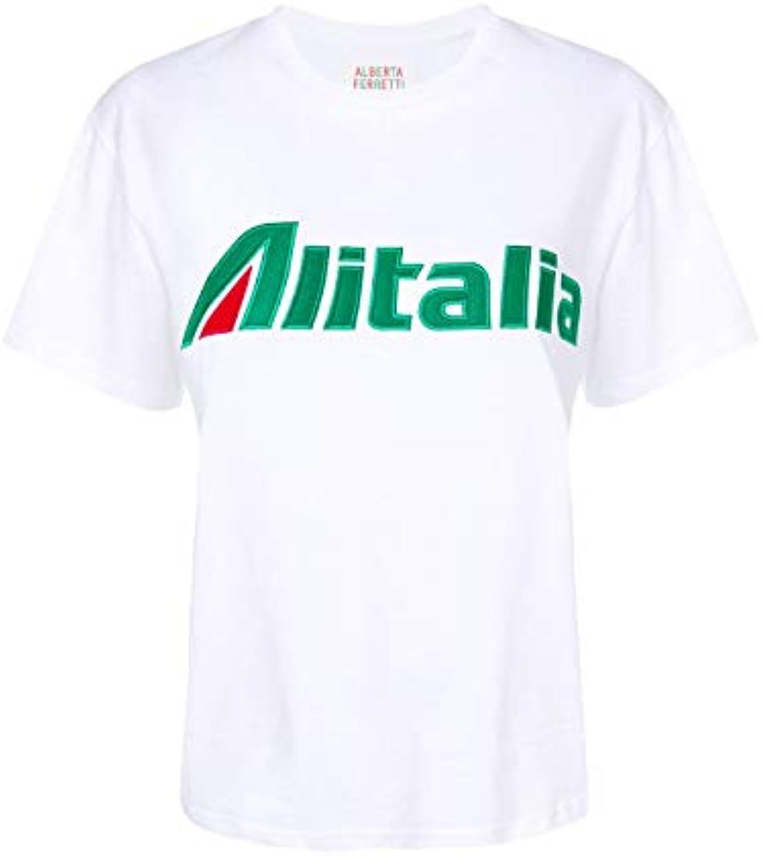 Alberta T-Shirt Ferretti T-Shirt Alberta Donna J070116720001 Cotone Bianco  B07L7XXY9Q Parent f4d4e2 9f4673cfeaa7