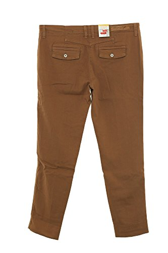 MAC Hose Chino Cool Damen Stretch Straight Fit Hellbraun