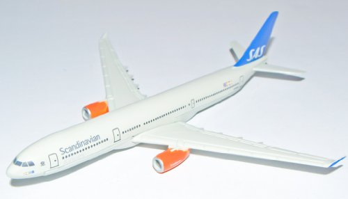 Airbus Scandinavian Airlines A330 Metal Plane Model for sale  Delivered anywhere in UK