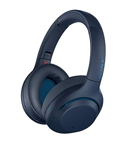 Sony WH-XB900N Casque Bluetooth à réduction de Bruit Extra Bass Optimisé pour Google Assistant et Amazon Alexa, Bleu