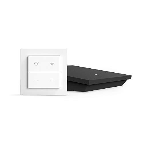Weißer Punkt Auf Der Iris (Nuimo Click Starter Kit: Kabellose Smart Home Schalter für Sonos, Philips Hue [1X Schalter, 1x Hub, Bluetooth, EnOcean, WLAN Kompatibel])