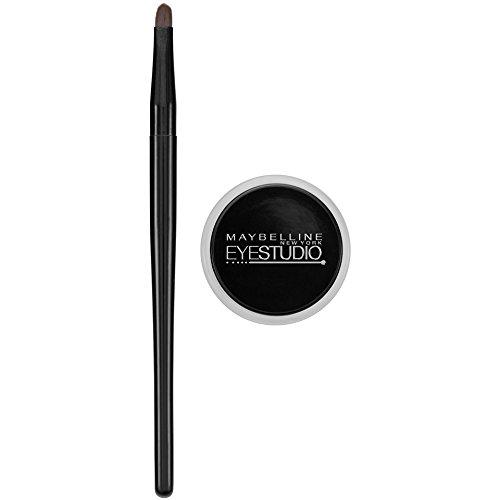 Maybelline New York Eye Studio Lasting Drama Gel Eyeliner, Blackest Black, 3g