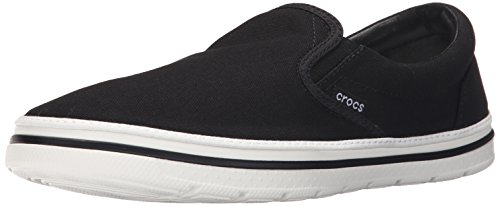 Crocs Crocsnorlinslip-Onm, Mocassins Homme Noir (Black/White)
